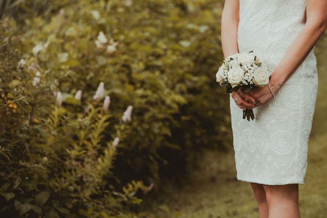 bruidsjurk foto