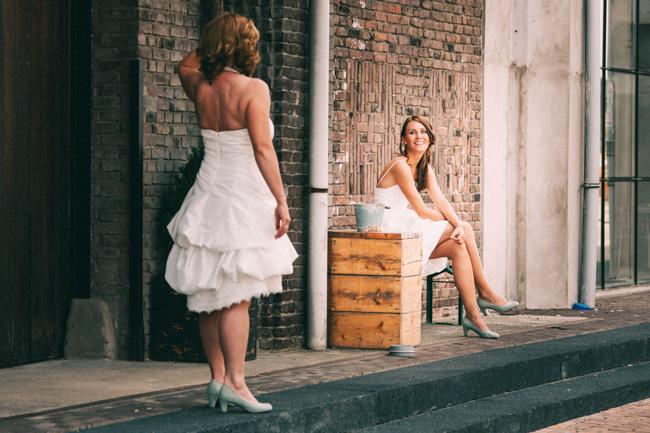 twee vrouwen trouwreportage