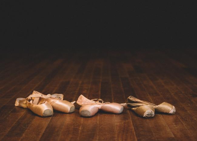 portret ballerina