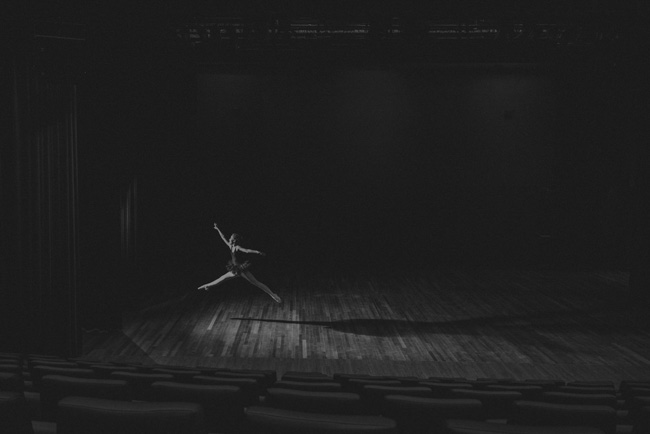 ballerina fotoshoot kinderen